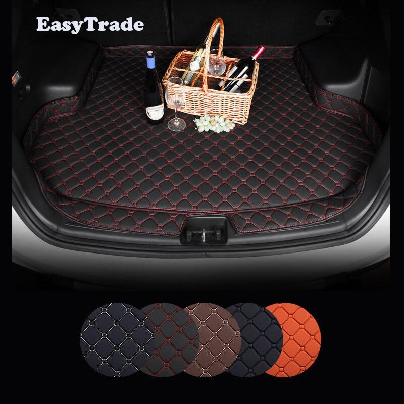 Car trunk mats Liner Carpet Guard Protector For KIA Sportage QL 2019 2018 2017 2016 Car Styling Accessories enlarge