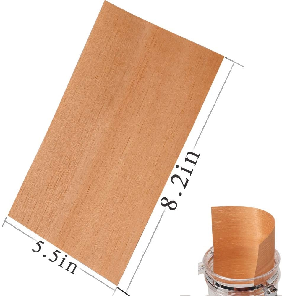 XIFEI 100pcs/Lot Spanish Cedar Paper Veneer For Cigar Humidor Box Case Natural Smoking Chips Accessories Free Shipping enlarge