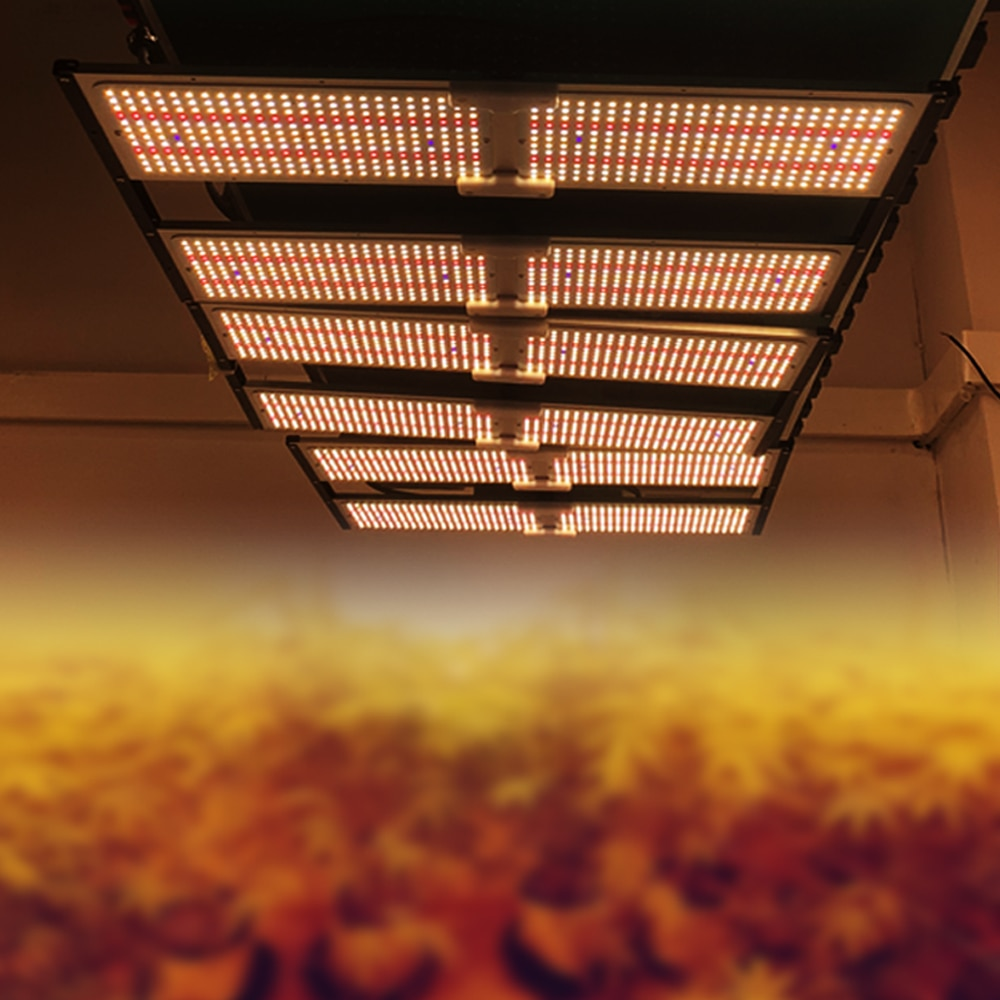 2021Latest V2 Quantum LED Grow Light Samsung LM301H 576pcs    Full Spectrum Mix 660nm UV IR With Meanwell Driver Fan Cooling enlarge
