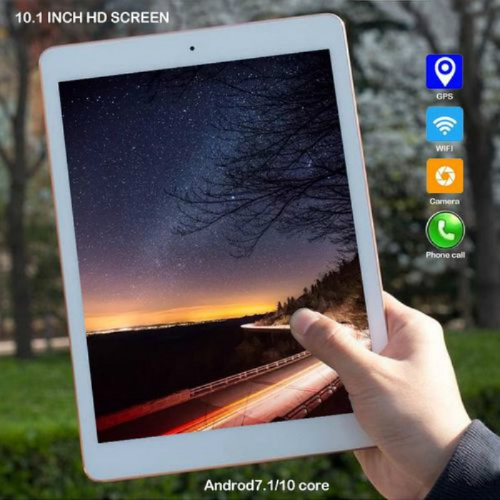 2020 New 10 inch Original 4G LTE Phone Call Android 8.0 10 Core Android Tablet WiFi Bluetooth GPS Tablets 6GB+128GB Tablet Pc