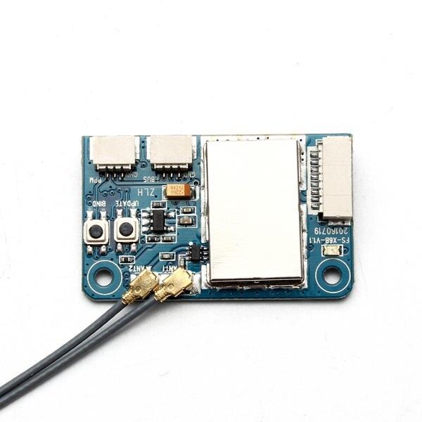 Receptor X6B 2,4G 6CH i-bus PPM PWM para Flysky AFHDS i10 i6s i6 i6x i4x transmisor