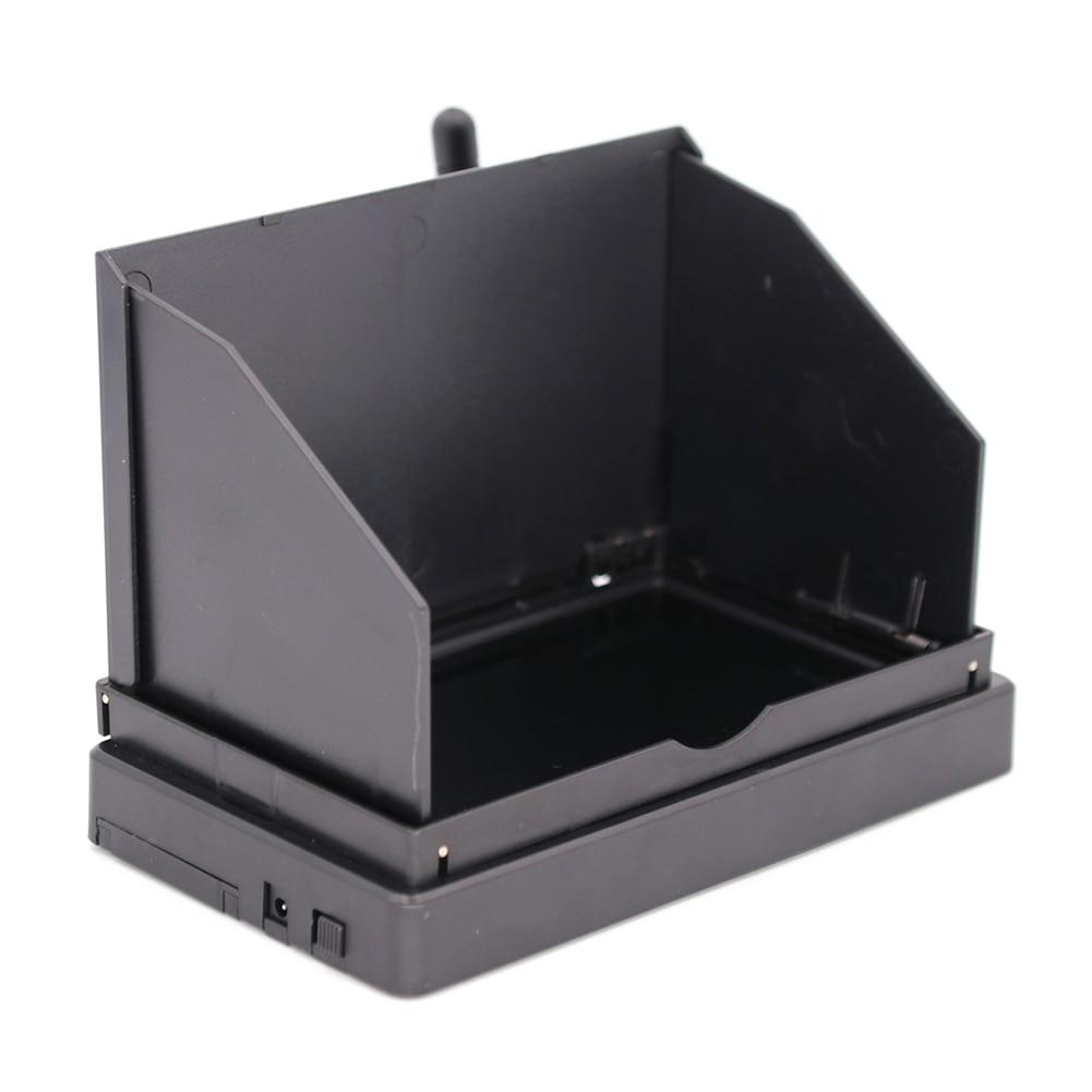 Búsqueda Automática de 5,8G y 48 canales con batería de carreras OSD DVR, Monitor FPV por pieza de control remoto, pantalla LCD de 4,3 pulgadas NTSC PAL 480X22 169