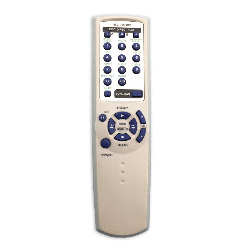 Control remoto adecuado para Aiwa tv AV sistema amplificador de potencia de Audio RC-ZAS02 controlador reproductor de DVD