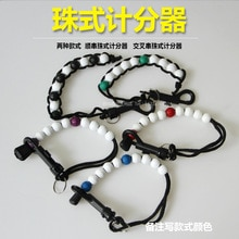 Dispositif de notation de Golf dispositif de notation de perles collier de perles dispositif de notation de poignet accessoires de Golf 2-Style