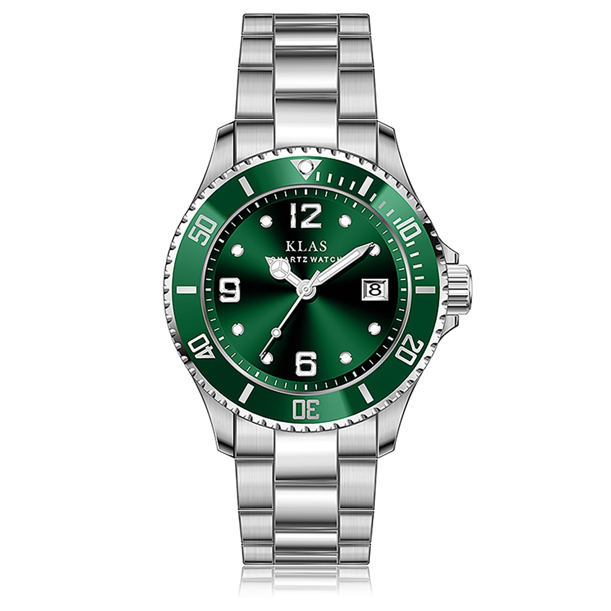 Men Luxury Watches Quartz Watch Stainless Steel Dial Casual Bracele Watch Sports Quartz Wristwatch clock KLAS enlarge