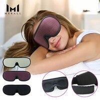 Маска для сна, блокирующая легкая, мягкие с подкладками, для путешествий, расслабляющий сон, повязка на глаза, ночная маска, патчи