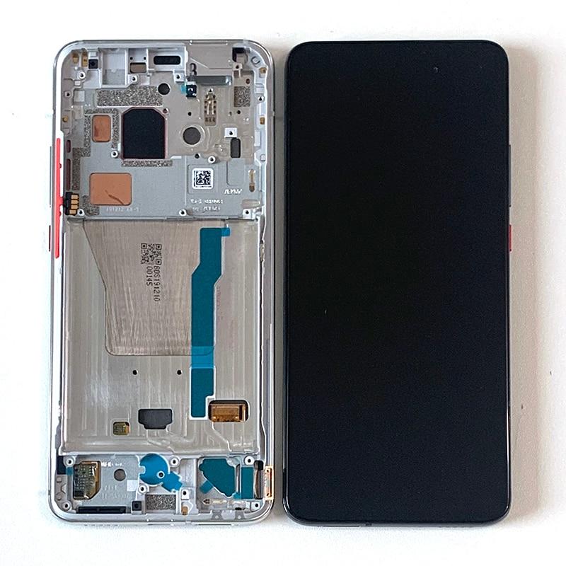 M & Sen-إطار شاشة LCD ولمس ومحوّل أرقام ، 6.67 إنش ، Super AMOLED ، لهاتف Xiaomi Redmi K30 Pro Xiaomi Poco F2 Pro