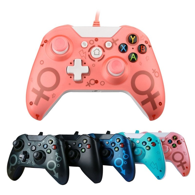 New N-1 XONE wired/wireless gaming dual vibrating joystick handle for Xbox One Slim for PC Win7/8/10 for Xbox one S joystick