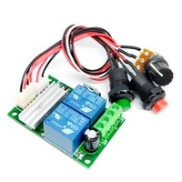 2021 dc 6v 12v 24v pwm dc motor speed controller forward and reverse switch linear actuator motor adjustable speed controller