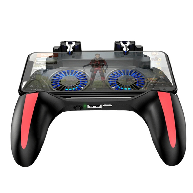 Game Gamepad For Mobile Phone Shooter Trigger Fire Button Game Controller Joystick PUBG Mobile Contr