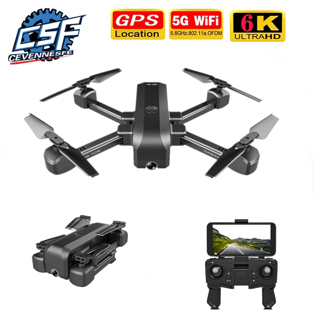 2021 New KF607 Drone 5G WiFi FPV 1080P 6K Wide-Angle HD Camera 120 Degree GPS Positioning RC Flodable Quadcopter Helicopte Toys enlarge