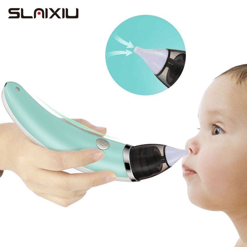 Kid Baby Nasal Aspirator Electric Nose Cleaner Newborn Baby care Sucker Cleaner Sniffling Equipment