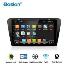 Bosio-DVD de voiture 2 din GPS   Pour Skoda Octavia 2014 A 5 A5 Yeti Fabia Pure Android 10 Quad Core, lecteur de Navigation Radio stéréo, IPS