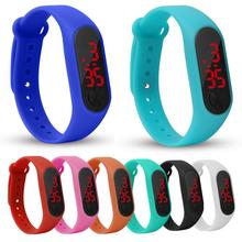 Children Fashion Bracelet Watch Kids Watches for Girls Boys Sport Electronic Wristwatch LED Digital