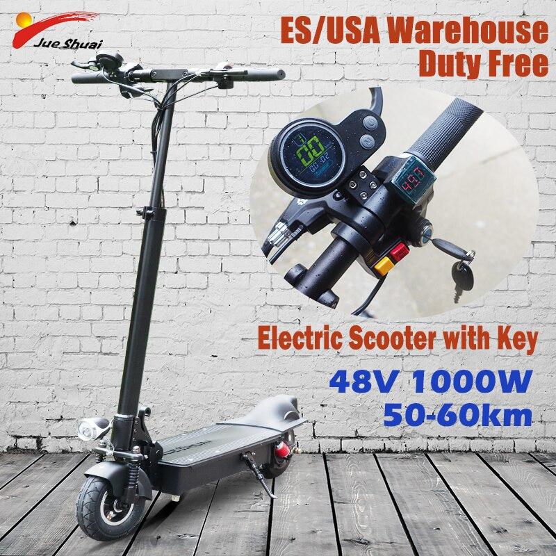 19 кг электрический самокат 1000 Вт Электрический скутер с замком 60 км/ч быстрый Электрический Скутер Для Взрослых M 365 pro