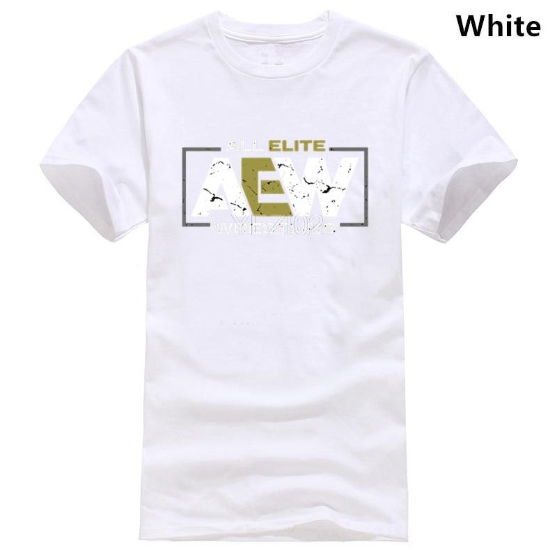 2019 marca todos Elite AEW lucha AEW Logo hombre Camiseta