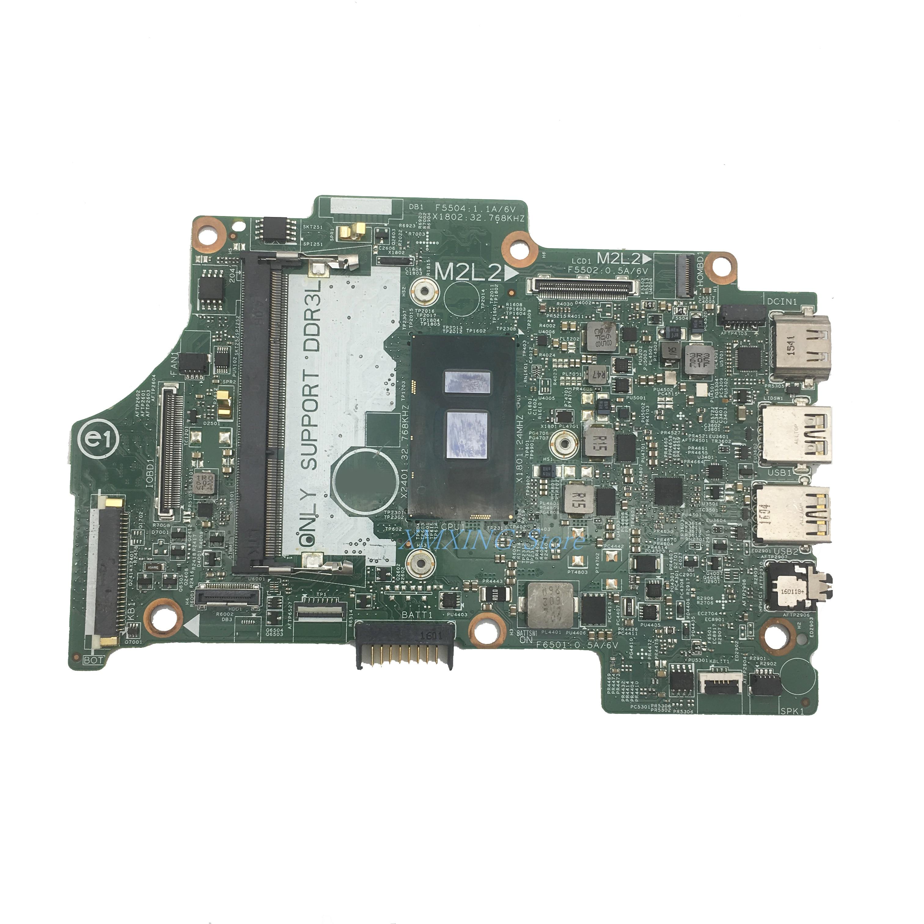 SR2EU I3-6100U FULCOL Para DELL Latitude 7359 7349 Laptop Motherboard CPU 14296-1 CN-0KN06J CN-004R70 0KN06J Testado 100% de trabalho
