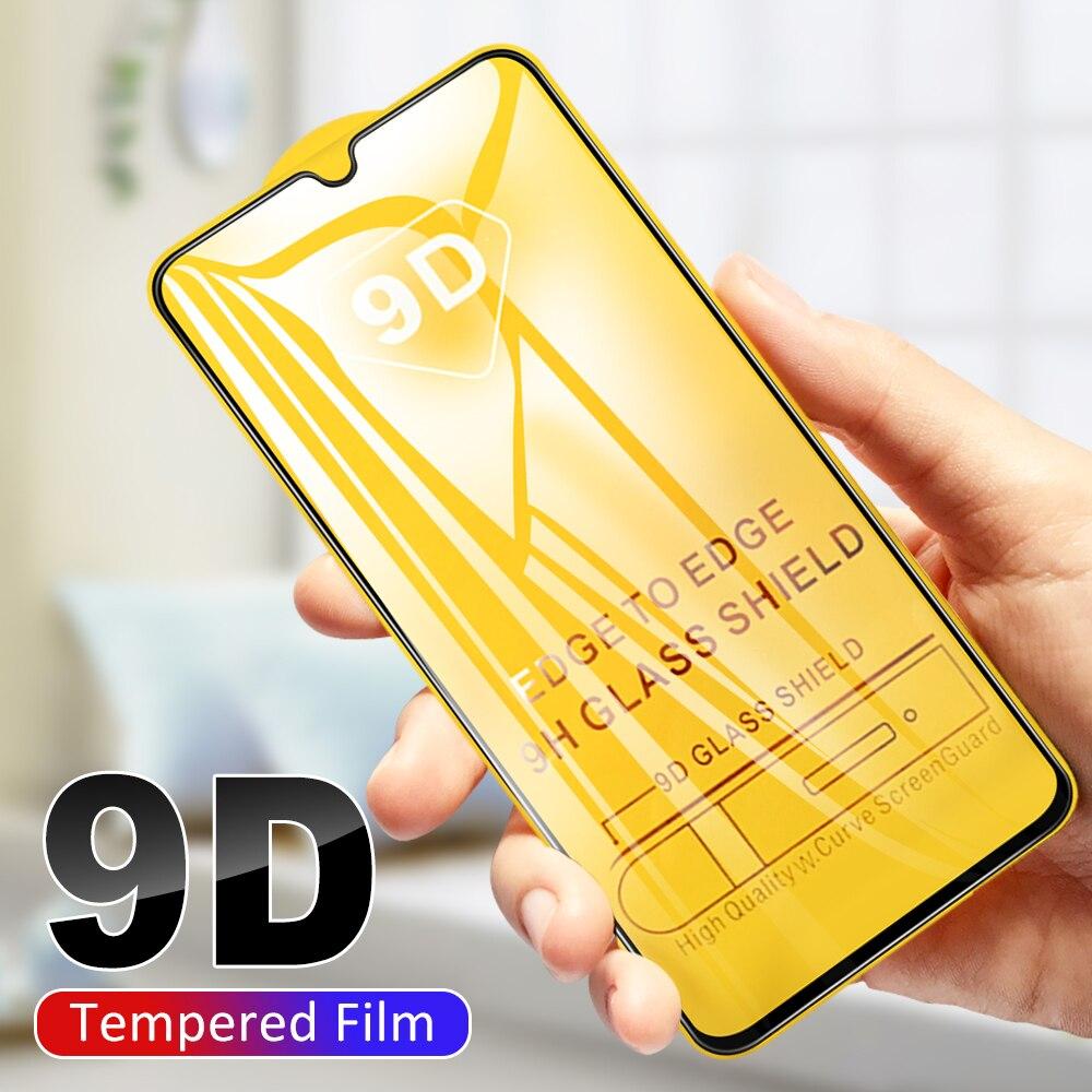 9D Protector de pantalla para Samsung Galaxy a50s a30s a10s a20s a70s m30s a20e s10e a40 a60 a80 a90 5G m10 m20 9H de cristal templado de cine