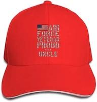 airforce veteran proud uncle unisex hats trucker hats dad baseball hats driver cap