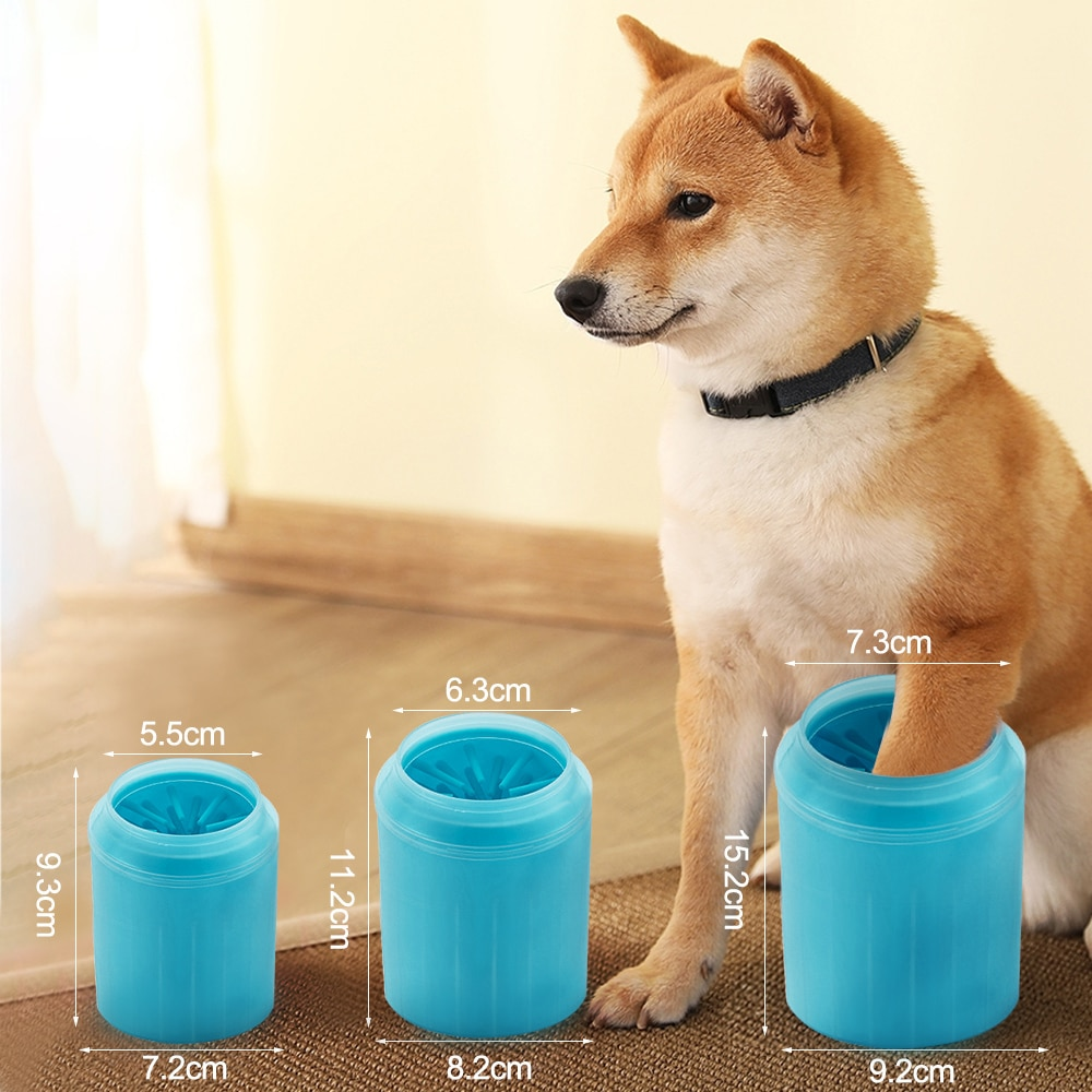 AliExpress - Silicone Dog Paw Cleaning Cup Pet Paw Massage Comb Portable Puppy Foot Washer Dog Cat Dirty Paw Cleaner Pet Feet Wash Bucket