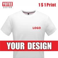 yotee2021 summer casual cheap short sleeved t shirt cotton round neck logo custom men and women t shirt