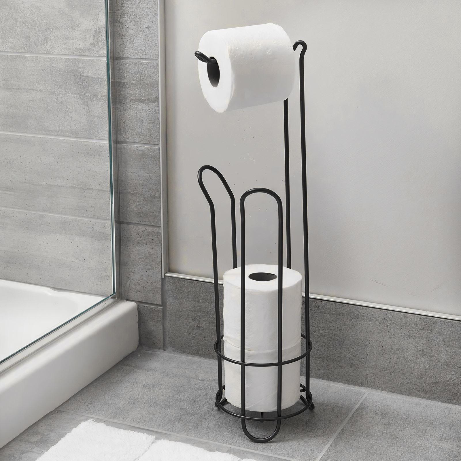 المحمولة المرحاض حامل كبير حامل ورق المرحاض بكرة مناديل رف الحمام تخزين الحاويات حمام اكسسوارات منظم مطبخ