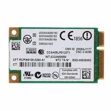 2.4 GHz & 5.0 GHz 5300 533AN_MMW sans fil WLAN WiFi Mini carte PCIe 802.11n + 450Mbps Module de périphérique WiFi carte de liaison livraison directe