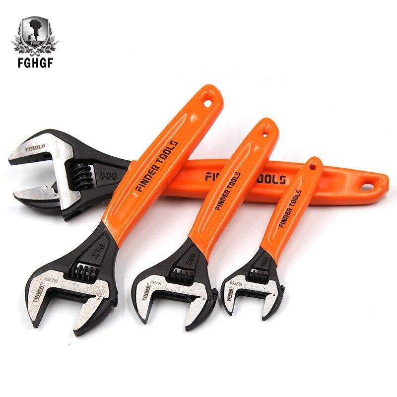 FGHGF 6/8/10/12 pulgadas palanca Universal de carraca biónica, juego de llaves inglesas de coche, llave de carraca, herramientas de reparación de automóviles, Torques mecánicos