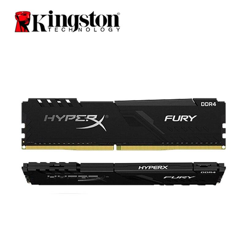 Kingston-memoria RAM HyperX FURY DDR4 para juegos, 2666MHz, 8GB, 2400MHz, 16G, 3200MHz,...