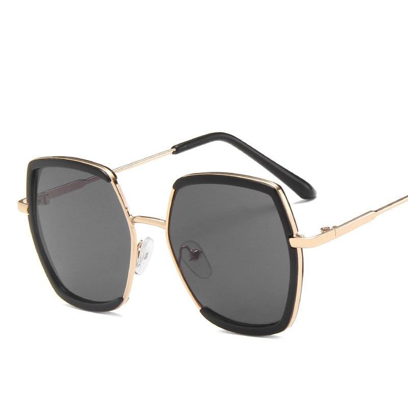 Nuevas gafas de sol retro antirreflectantes para niños, gafas de sol cuadradas de plástico a la moda para niños y niñas, gafas de sol negras con espejo para niños uv40
