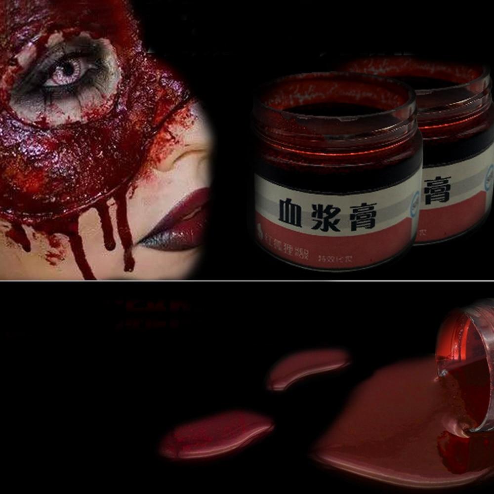 Halloween Ultra-realistische Cosplay Gefälschte Blut Gefälschte Wunden Narben Prellungen Make-Up Körper Gesicht Malen Simulation Von Menschlichen Vampire Blut