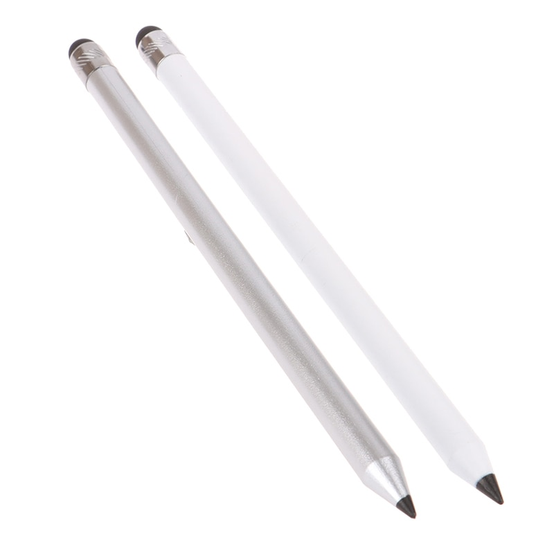 1PC Dual Head Touch Screen Stylus Pencil High Quality Capacitive Capacitor Pen For i-Pad For Samsung