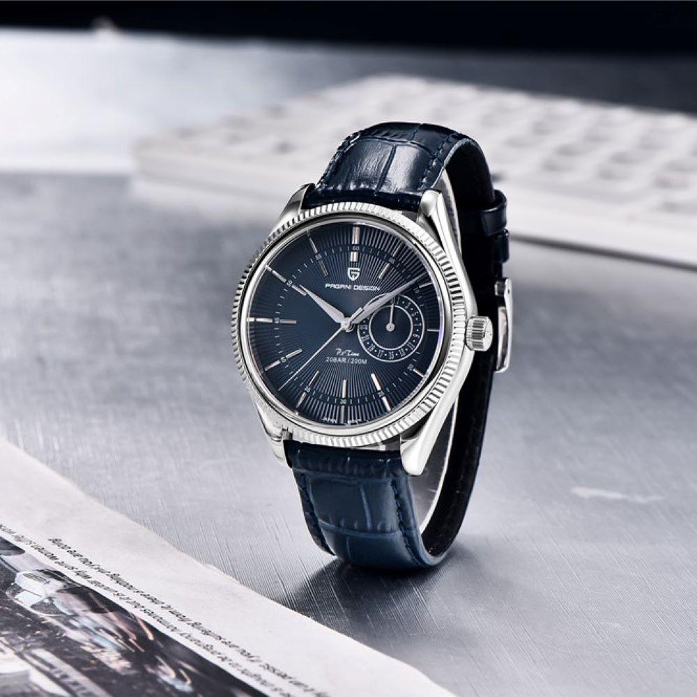 PAGANI DESIGN 2021 New Fashion  Sapphire Relogio Masculino Multifunctional Quartz Chronograph Stainless Steel 200M Waterproof