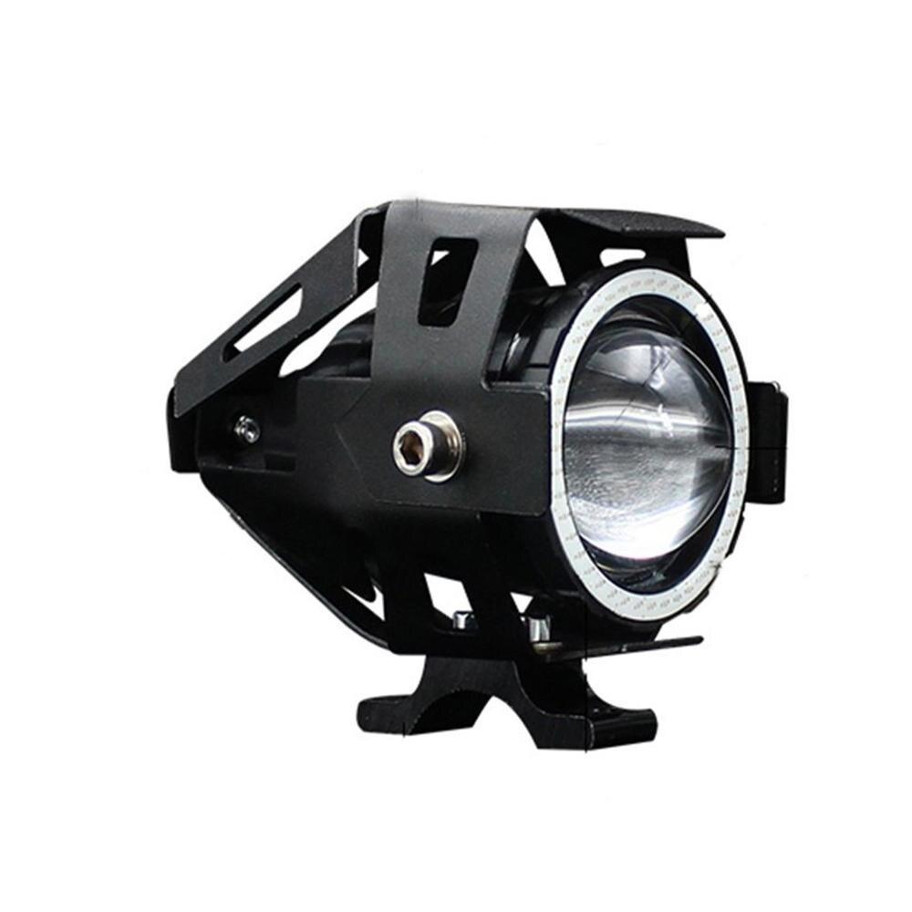 PCS 125W 12 2V moto rcycle Farol 3000LM U7 moto holofotes LED de Condução Nevoeiro Cabeça Luz do Ponto Decorativo lâmpada