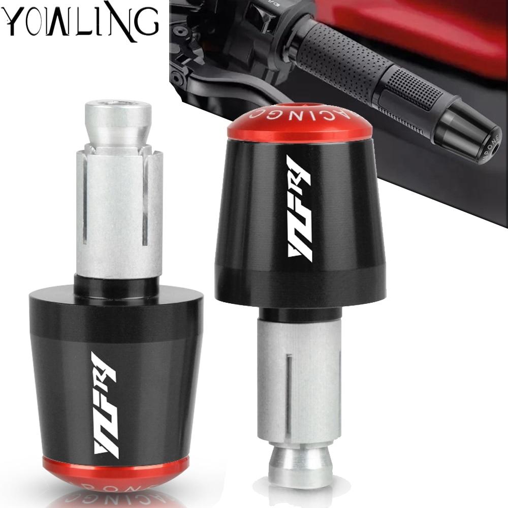 For Yamaha R1 YZFR1 YZF-R1 1998-2019 2015 2016 2017 2018 Motorcycle grips Bar End Plugs Handle Handlebar Plug End Cap grip YZFR1