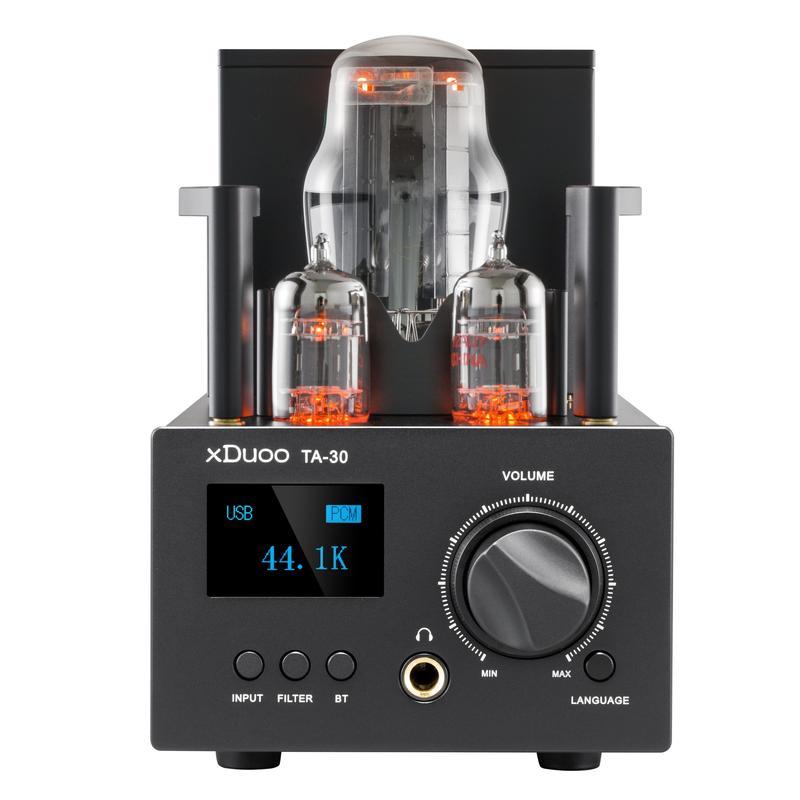 XDUOO TA-30 ES9038Q2M High Performance Bluetooth 5.0 decoding Amp DAC Tube Headphone Amplifier support aptX/SBC/AAC AMP