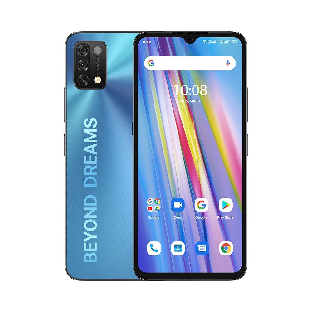[Мировая премьера] глобальная версия UMIDIGI A11 3/4 Гб + 64 Гб/128 ГБ Android 11 смартфон HelioG25 6,53 дюйм 16MP AI тройной Камера HD 5150 мА-ч
