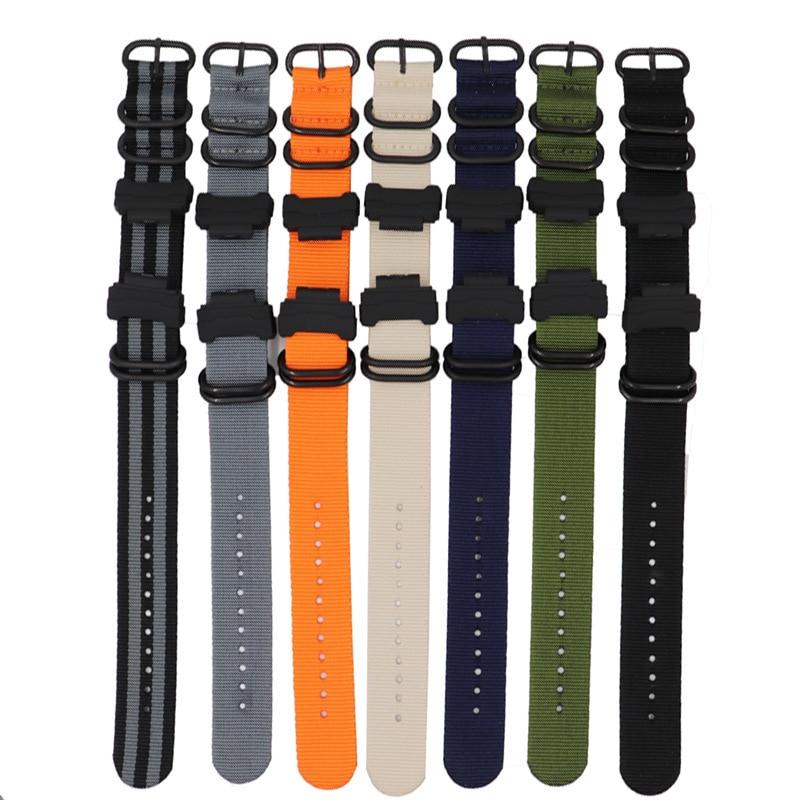 Reemplazar Nylon pulsera de reloj para Casio G Shock DW5600 DW6900 GW-M5610 GW-6900 GA400 GA110 de diseño de moda reloj de correa con herramientas