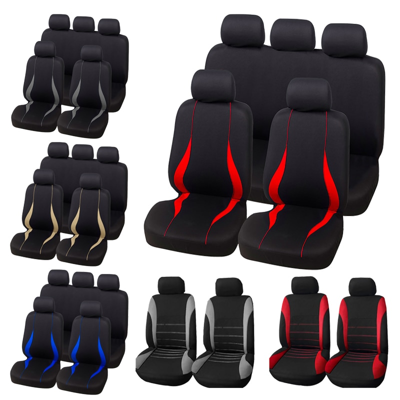 AUTOYOUTH Full Set Car Seat Cover Protect Covers For Universal Autos For Kalina Grantar For Lada Pri