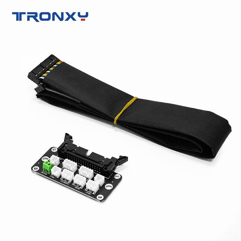 Tronxy 3D imprimante accessoires ensemble carte adaptateur avec 85cm câble connecter à X5SA XY-2 Pro 3D imprimante pièces pour carte mère