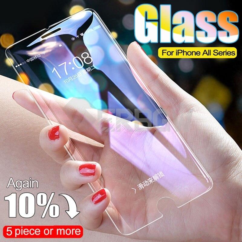 100d curvado protetor de vidro temperado para iphone 6s 7 8 plus se 2020 protetor de tela de vidro para o iphone x xr xs 11 pro filme max
