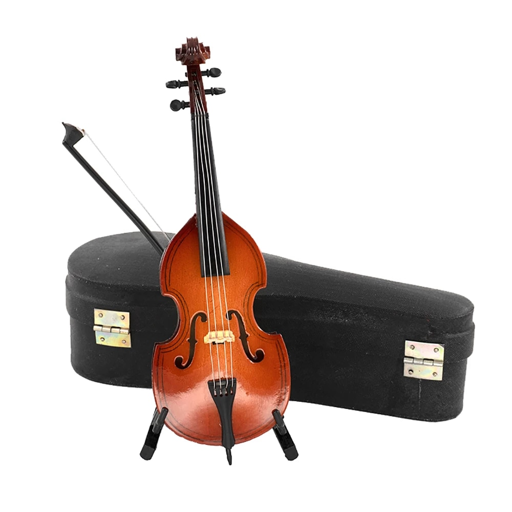 Modelo De Violonchelo De Graves En Miniatura De Madera Con Soporte Mini Instrumento Musical 1 12 Casa De Muñecas 1 6 Accesorios De Figuras De Acción Ob11 1 Uds Muebles De Juguete Aliexpress
