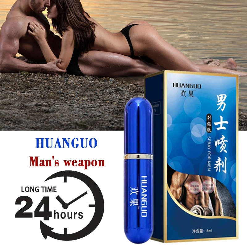 Male sex delay spray topical anti-premature ejaculation prolongs adult intercourse sex products for