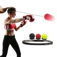 head mounted boxing speed ball agility training reaction ball decompression vent ball fight ball bouncy ball