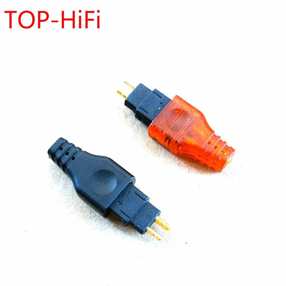 مقبس سماعة رأس هاي فاي علوي لـ HD525 HD545 HD565 HD650 HD600 HD580 محول ذكر إلى MMCX أنثى