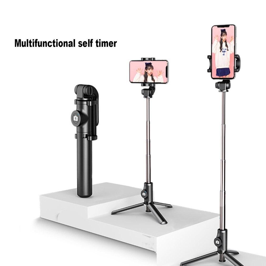 Universal tripé auto-temporizador pólo fotografias sem fio auto-temporizador pólo horizontalmente verticalmente auto-temporizador haste