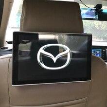 Encosto de cabeça do carro monitor dvd player vídeo usb tela lcd toque android banco traseiro sistema entretenimento para mazda CX-9 11.8 Polegada