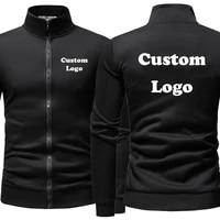 2021 custom logo mens hoodies jackets cardigan hooded coat vintage color pullover sweatshirts dropshipping and wholesale