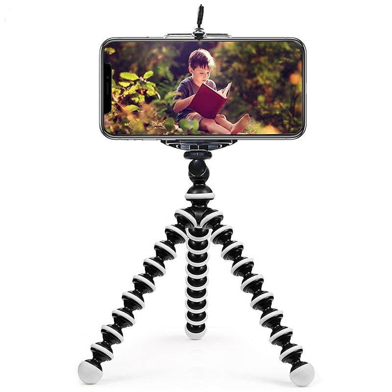Mini Octopus Tripod Holder Universal Smartphone Sports Camera Stand With Clip Mobile Phone Tripod Gorillapod For iPhone Huawei