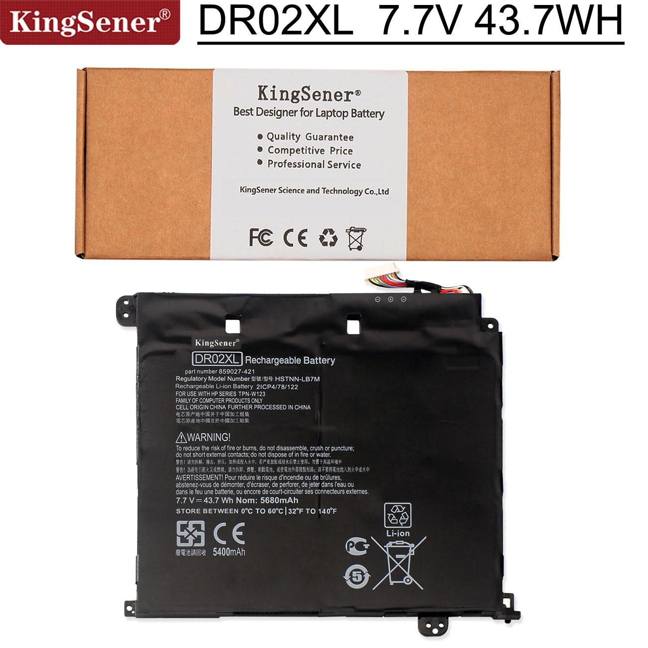 Аккумулятор Kingsener DR02XL HSTNN-IB7M 855710-001 для HP Chromebook 11 G5(X9U05UT) 859027-1C1 859027-121 859027-421